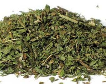 1 Cup Spearmint leaf, cut and sifted, Organic, makes delicious tea