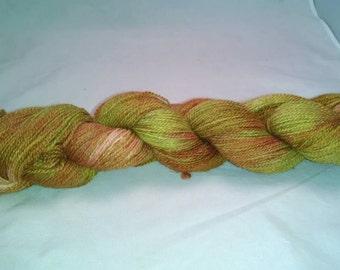 Soft luxurious alpaca yarn  400yards pure luxury light fingering weight rhubarb