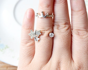 Constellation Orion Midi Rings Set