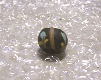 Rare Blue Ghost Venetian Fancy Trade Bead