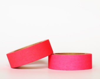Neon Red Washi Tape
