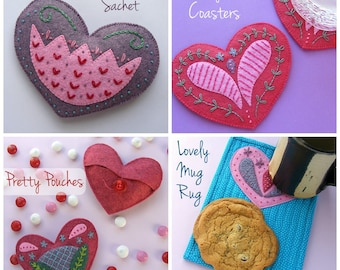 2015 Heart Collection - PDF Digital patterns
