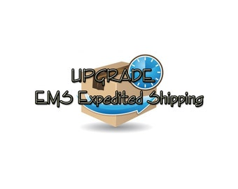 Upgrade Expedited Shipping, DHL Courier, EMS Express Shipping, Fast Delivery, ASAP Delivery