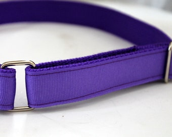 Girls Purple Velcro Belt with D Ring School Uniform Purple Velcro Belt Girls Purple Ribbon Belt Purple Girls Belt Hook and Loop Belt Girls