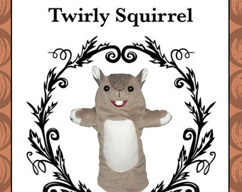 Squirrel Hand Puppet Pattern