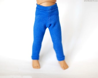 BJD Clothes Cobalt Blue Jeggings For YoSD