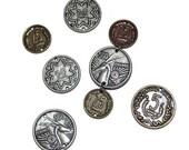 Mixed Metal Coins Links Beads Craft Supplies Scrapbook Supplies