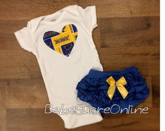 St Louis Blues Outfit