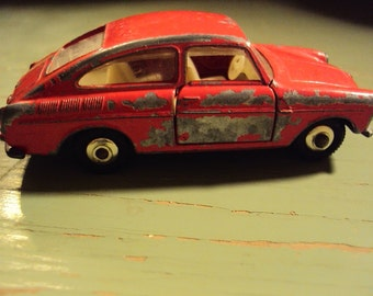 Vtg. Lesney Pre-Matchbox 1967 Volkswagen 1600TL No. 67 CHIPPY LOVE