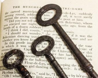 Old Vintage Keys, Keys, Rusty Old Keys, Three Keys, Altered Art
