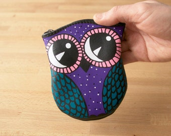 Owl Pouch Leather Pouch