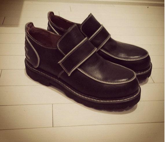Vancouver Black Steel Toe Shoe