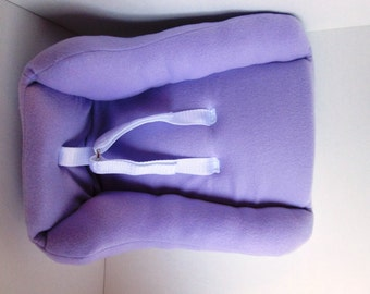 Lavender Doll Car Seat