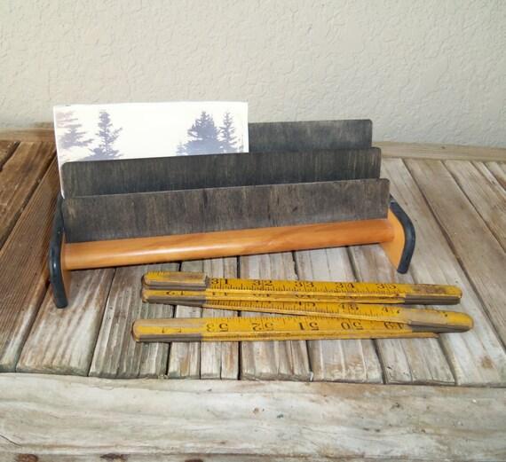 Lastest Vintage Wood Desk Organizer Antique White Letter Organizer