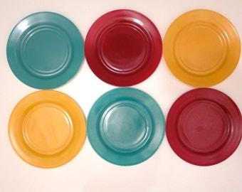 Hazel Atlas Dinner Plates, Set of 6