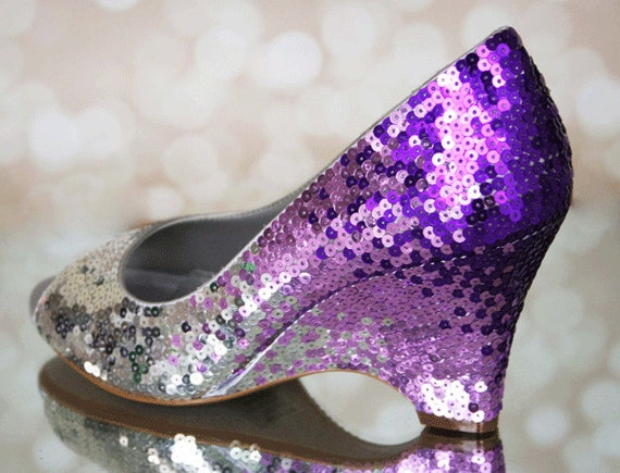 Wedding Shoes Sequin Wedding Sequin Bridal Shoes Wedges