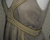 Ireland Vintage Chiffon Greek Goddess Dress
