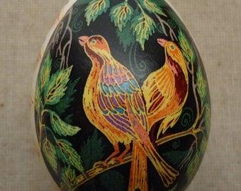 Goose Egg Pysanky Pysanka from Ukraine