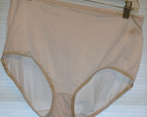 white nylon panties plus size 3x