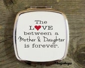 Mother of the Bride Pocket Mirror, Mom Gift, Compact Mirror, Custom personalized Mirror , Gift Ideas For Mom , Mothers Day Gifts