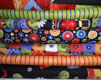BLOW OUT SALE Fabric, Sausalito Collection 6 dollars a yard