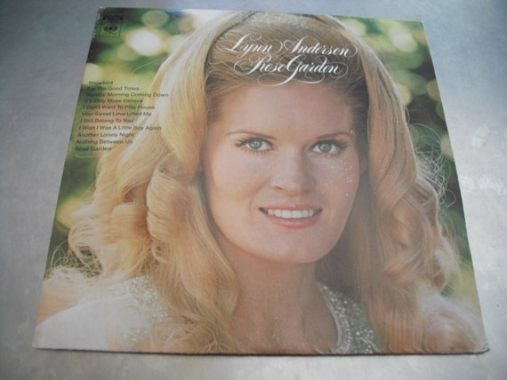 Lynn Anderson Rose Garden Columbia Records 1970 Country Hit