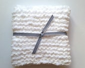 White Puff Blanket or Baby Photography Prop