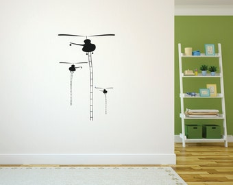 Helicopters Wall Decal