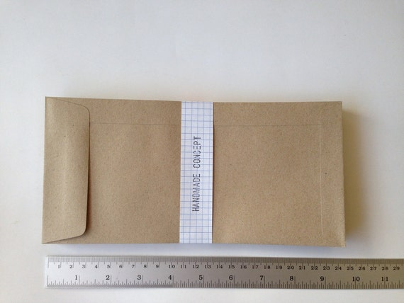 25 brown kraft open end envelopes long size x 4 1 2 x 9 1 4 inches from. Black Bedroom Furniture Sets. Home Design Ideas
