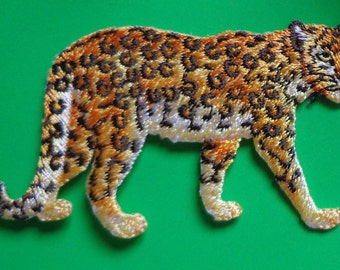 iron on applique - LEOPARD