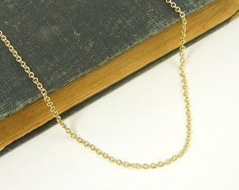 30 Inch Gold Chain Necklace |CH1-G30