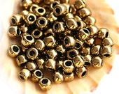 TOHO Seed beads, size 6/0,  Antique Bronze, N 223, round, japanese glass - 6g - S418