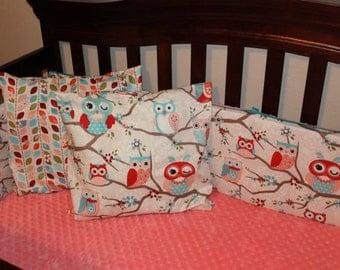 Minky Dot Crib Sheet