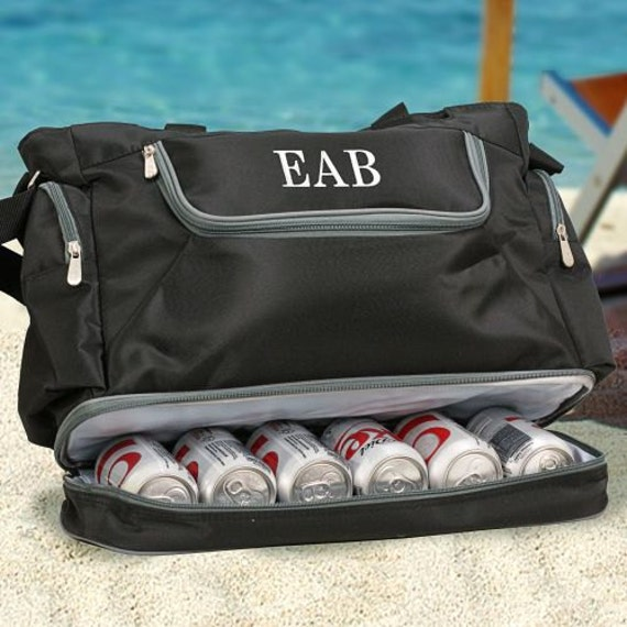 Embroidered Cooler Bag Personalized Groomsmen Gift Dad