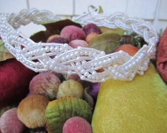 Wedding Headband Beaded Tiara Veil Supply Headband Darice 80s