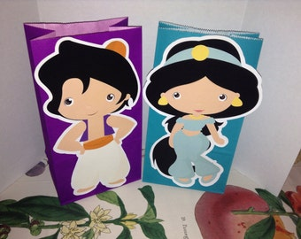 Little Kids Dressed as Prince and Princess Party Goody Bags