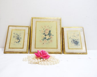 Vintage Florentine Italian Italy Wall Frames Victorian Mid Century Regency Wall Decor Made in Italy
