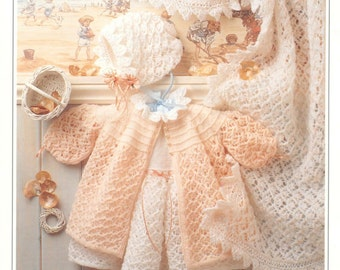 Knitting Patterns For Baby Layettes : Baby Knitting Pattern Newborn Baby Boys Reborn Dolls