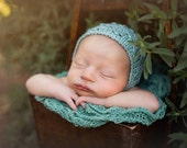 Knitting Pattern - Nathaniel Bonnet - Newborn Photography Prop