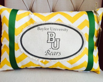Baylor Pillow