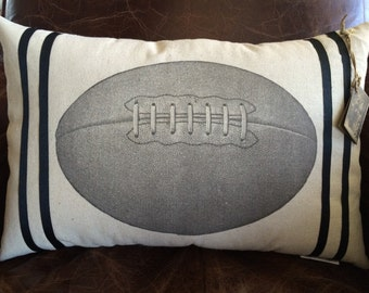 Vintage Football Pillow