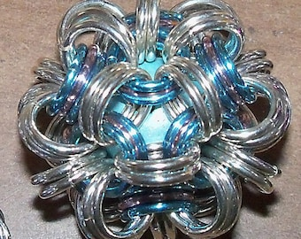 """Make-It-Yourself 1.25"""" diameter  Chainmaille Ball Kit"""