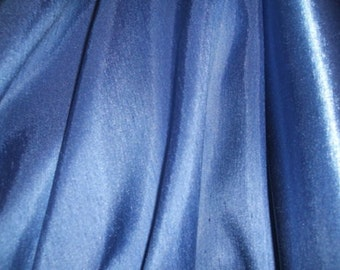 Hyacinth Satin Back Polyester Dupion Fabric x one yard