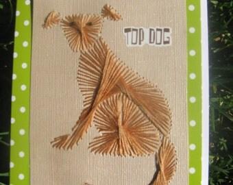 Greeting Card, Top Dog
