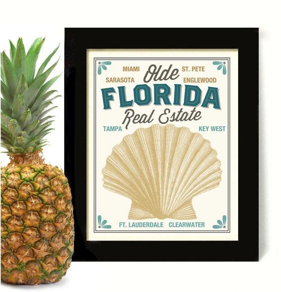 Items similar to beach decor florida art ocean art seaside for Beachy decor items
