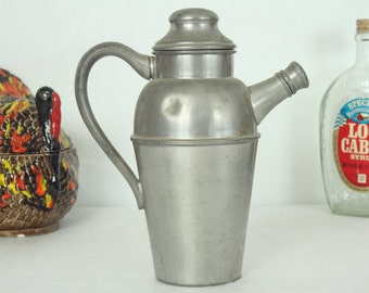 Federal Solid Pewter Pitcher, Flagon, Serving, Housewares