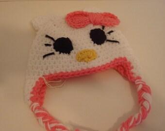 Hello-kitty hat