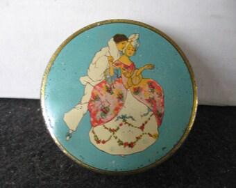 Vintage Rare LA-MAY Vanity Face Powder TIN