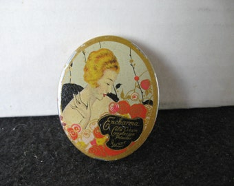 Vintage~LUXOR ENCHARMA~Complexion Powder Tin