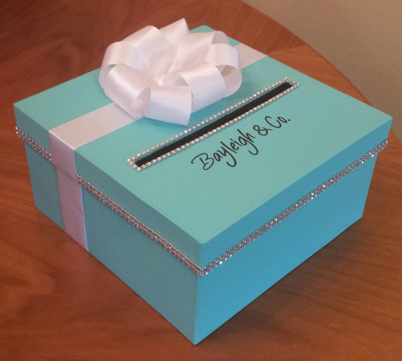 Wedding Shower Gift Card Box : Card box for a wedding baby shower bridal shower or birthday party